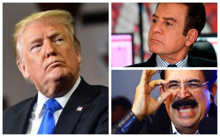 """""""Mel"""" y Nasralla responden a Trump ante advertencia de retirar ayuda económica"""