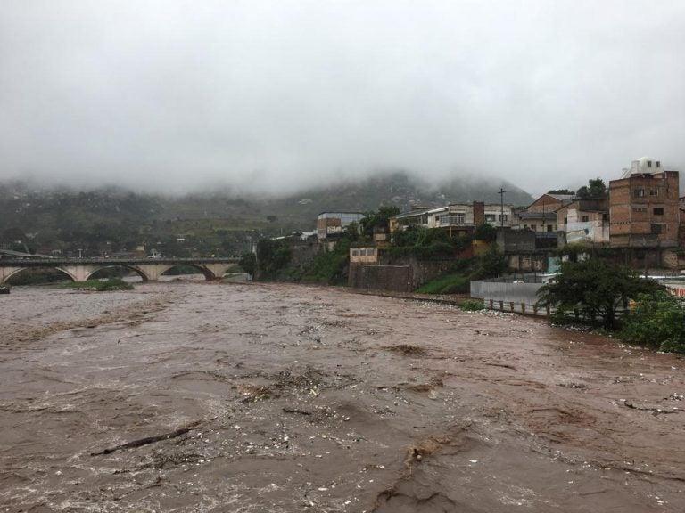 Imágenes de los daños que han dejado las lluvias en Honduras