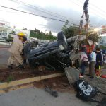 accidente vehicular en Tegucigalpa