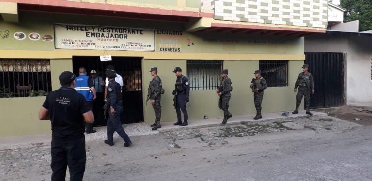 """Cuerpos de seguridad ejecutan Operación """"Coraza V"""" en Choluteca"""