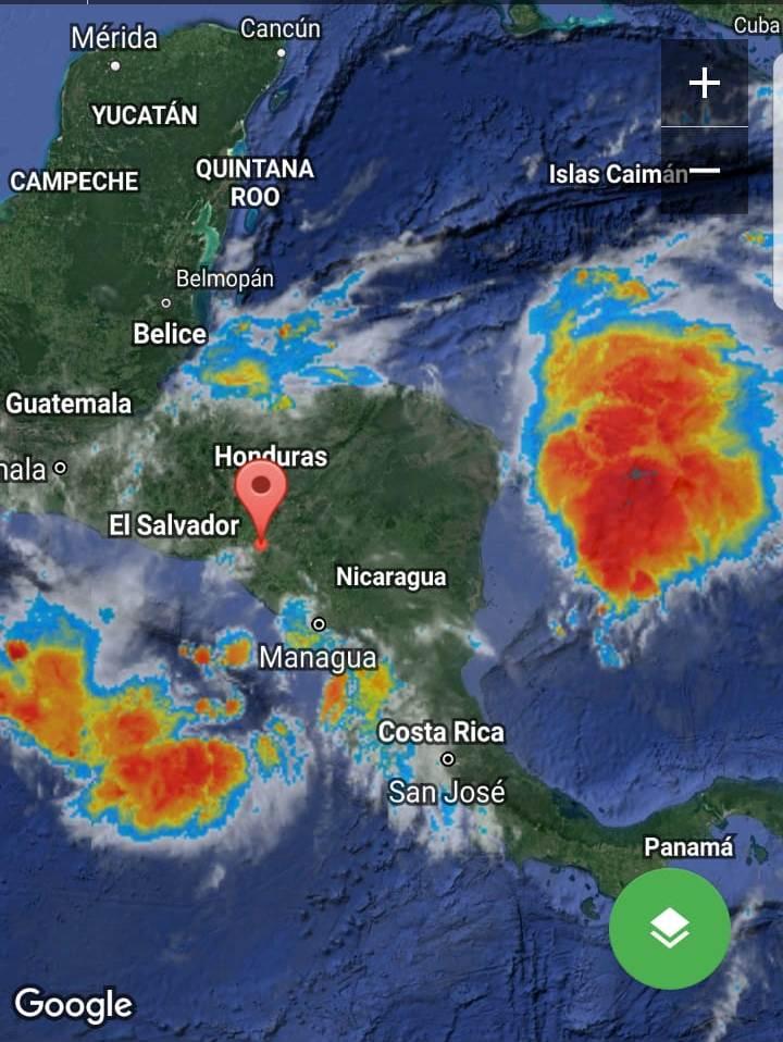 CLIMA DE ESTA TARDE: ingreso de dos fenómenos está causando fuertes lluvias