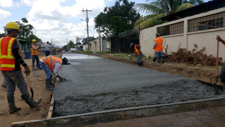 VÍDEO: CONDELTA avanza en el proyecto de pavimentación en El Progreso