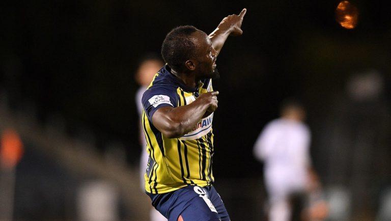 El ex campeón olímpico Usain Bolt anotó su primer doblete en Sídney