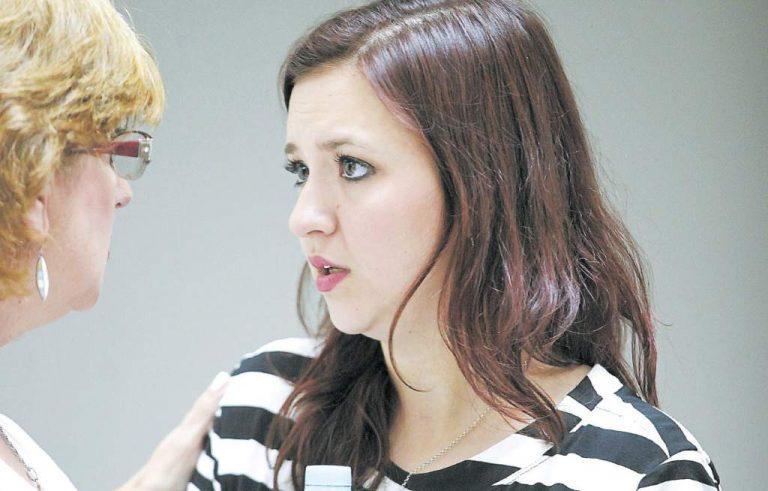 Laura Knight lloró desconsoladamente al escuchar al juez decir «culpable»