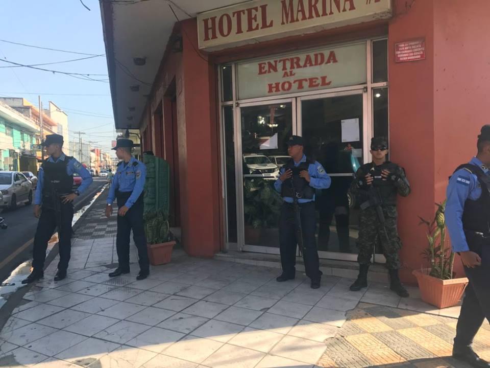 trabajadora del sexo en hotel Marina