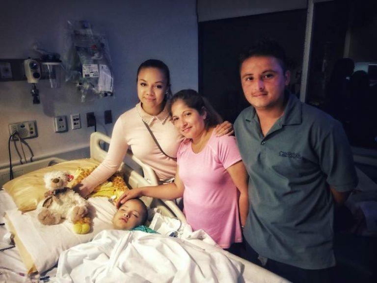 Caravana de migrantes: familia hondureña que busca cura para niño con cáncer llega a EEUU