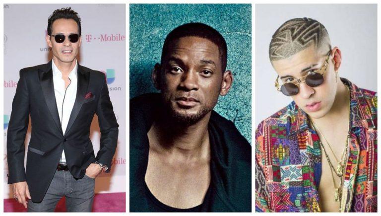 Latin Grammy iniciará con el éxito de Bad Bunny, Marc Anthony y Will Smith «Está rico»