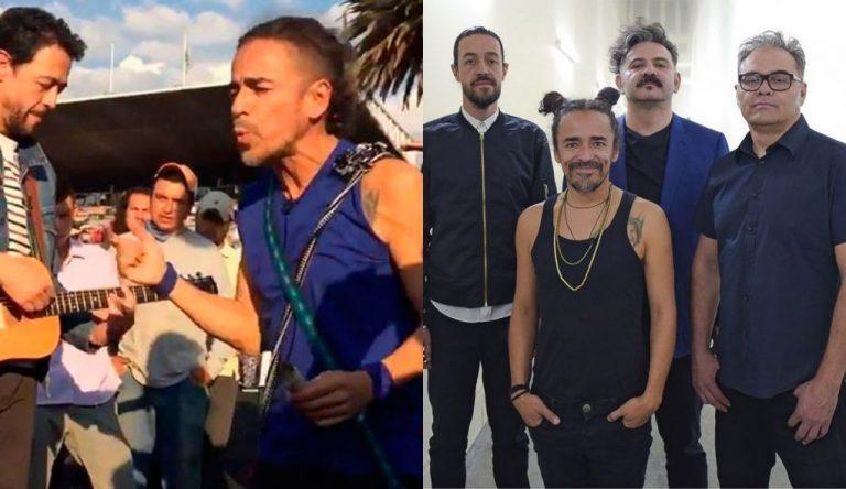 Café Tacvba canta a migrantes en México y pide que lleguen con bien a su destino