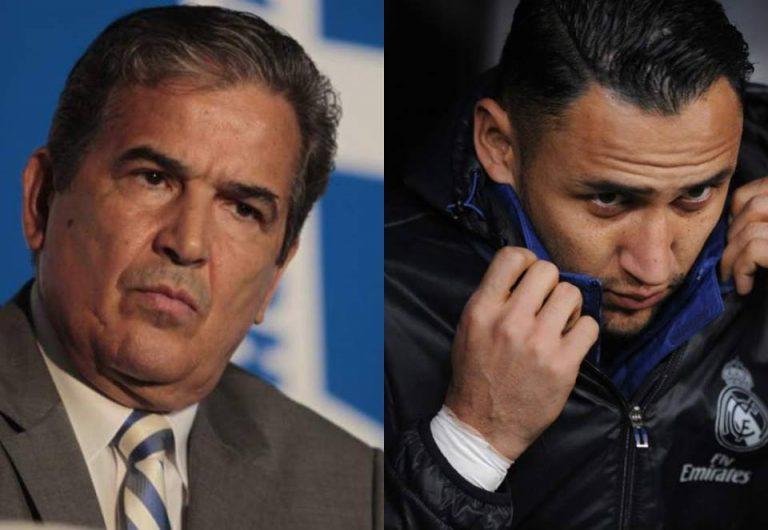 ¡PROBLEMAS! Keylor Navas es acusado por querer sacar a Jorge Luis Pinto de Costa Rica