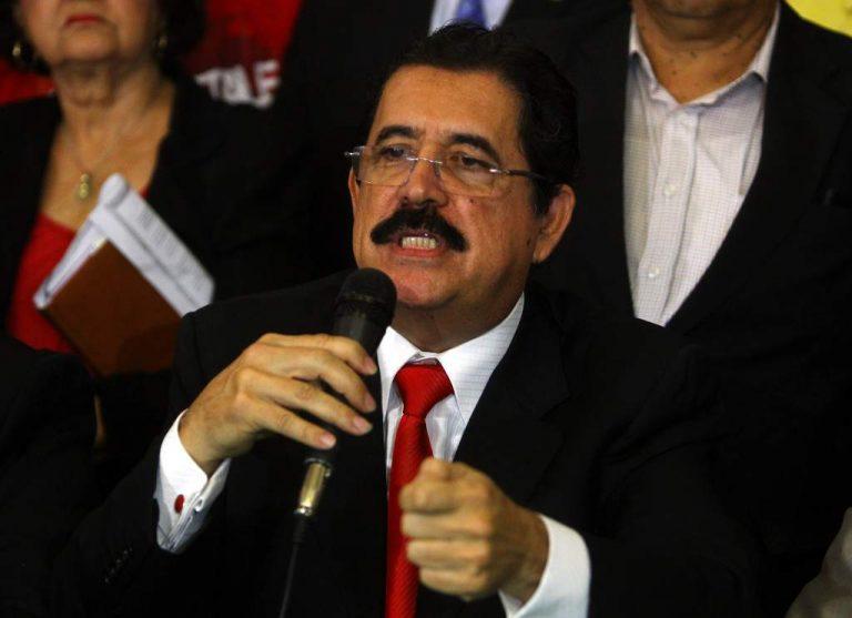 """""""Mel"""" Zelaya: EE.UU debe extraditar a todos los mencionados en juicio del """" Chapo Guzmán """""""
