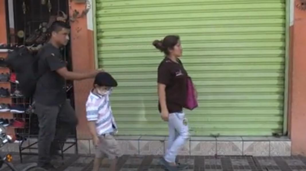 Niño hondureño