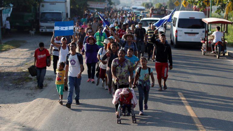 Fiscalía General de Puebla desmiente el secuestro de 100 integrantes de la Caravana de Migrantes