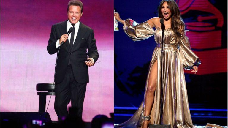 ¿Culpa de Luis Miguel? Abuchean a Thalia en los Grammy Latino 2018