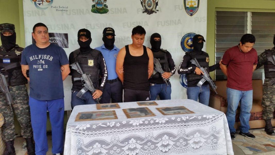 guatemaltecos detenidos en Honduras