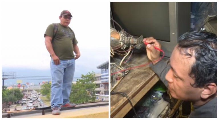 Hombre que se quiso suicidar en San Pedro Sula, reaparece con nuevo mensaje