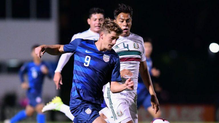 Estados Unidos vence a México en Final Sub-20