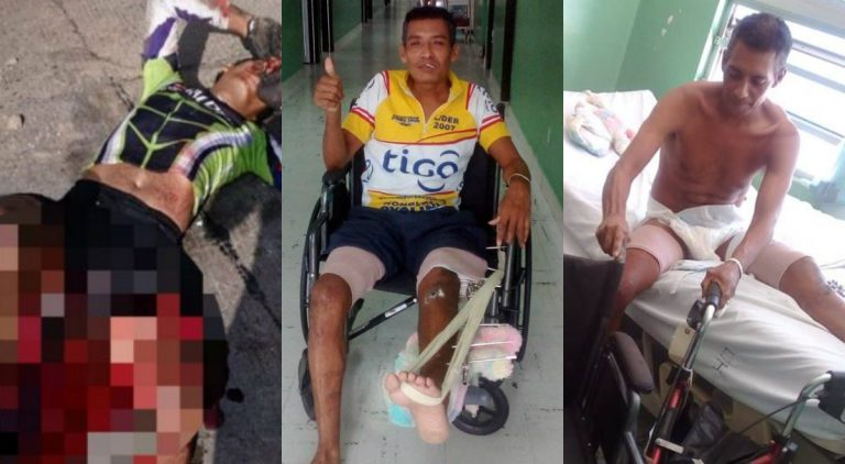 Pastor Gómez, el ciclista atropellado, relata cómo ocurrió el accidente que casi lo mata
