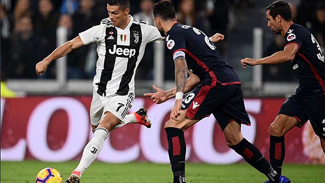 Juventus derrota al Cagliari y… ¡Cristiano Ronaldo asiste!