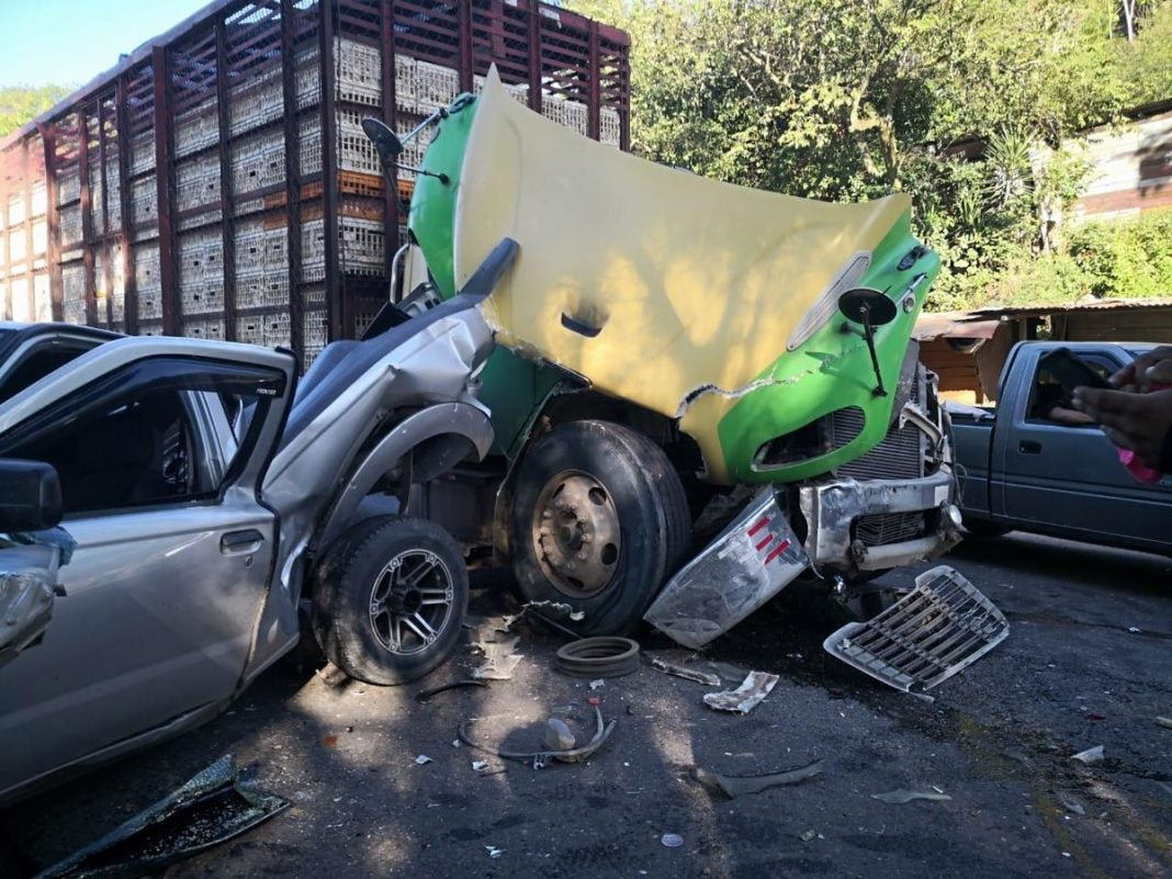 Accidente en Cofradía