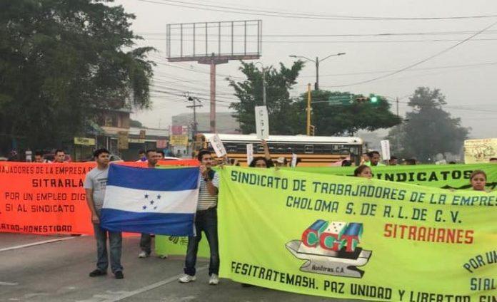 trabajadores de maquilas en Villanueva