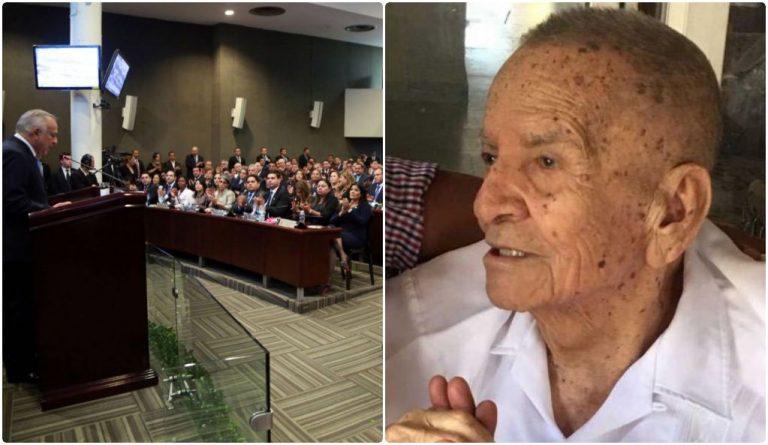 CN convoca a diputados a rendir honras fúnebres al expresidente Suazo Córdova