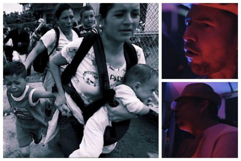 VÍDEO: Polache y Nilo Espinal unen sus voces en emotivo canto a migrantes