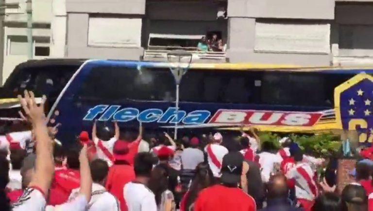 Habrían identificado a los atacantes del autobús de Boca Juniors