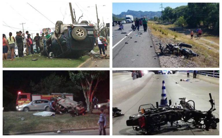 Accidentes de tránsito: Cuatro hondureños mueren a diario por esta causa