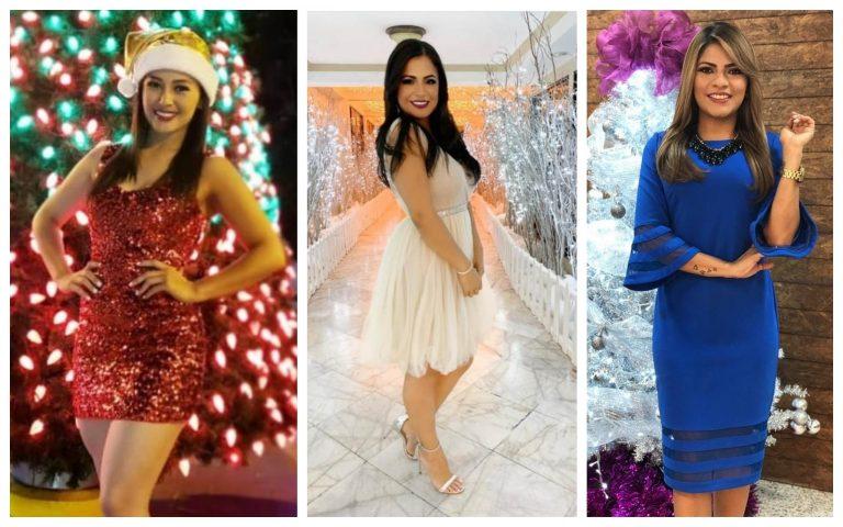 Bellas presentadoras hondureñas así le dan la bienvenida a la época navideña