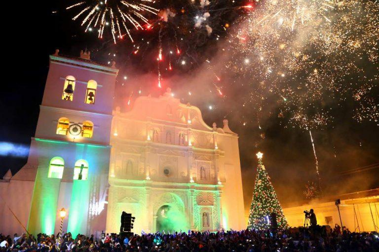Todo listo para recibir Año Nuevo con las 12 campanadas en Comayagua
