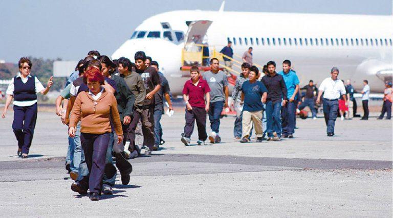 Deportación de hondureños se incrementó en un 54%, según cifras oficiales
