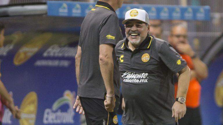 Problemas para Diego Maradona en Dorados