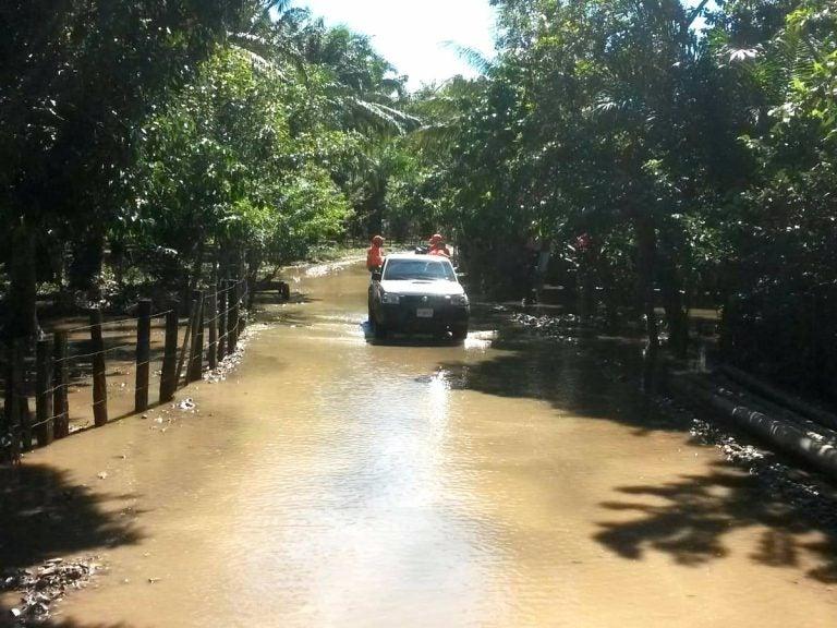 Frente frío en el Caribe hondureño continúa; hay más de cinco mil afectados