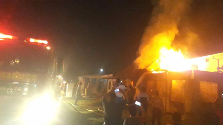 Cachiflín, el causante de incendio que destruyó bodega de desechables en SPS