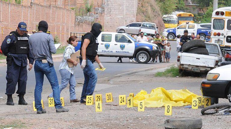 OV-UNAH: 69.8 % de los homicidios en el país se ejecutan con arma de fuego