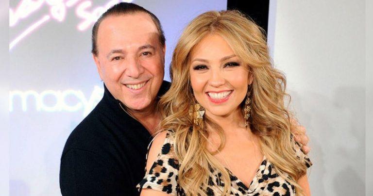 Thalía celebra su 18 aniversario de bodas con el millonario Tommy Mottola