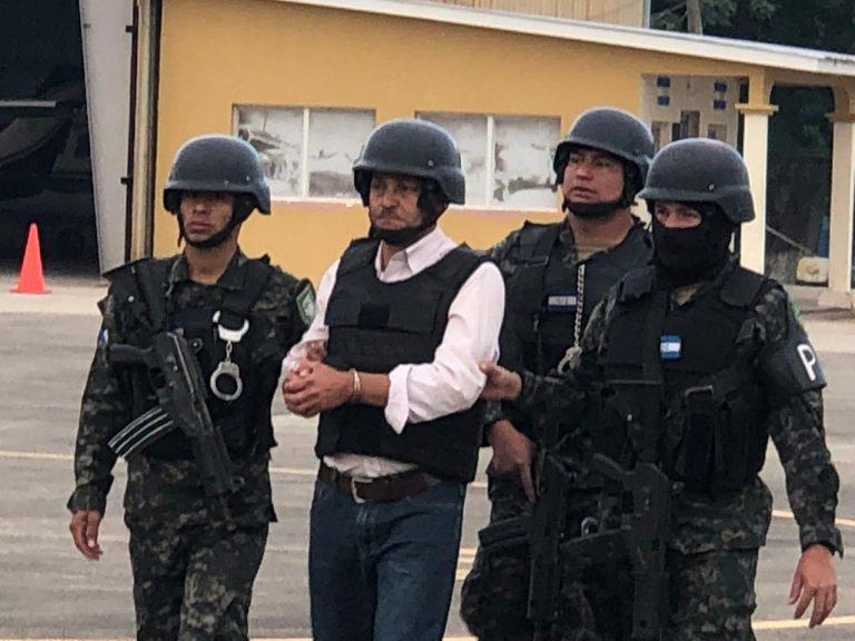 Pedido en extradición llega a San Pedro Sula y luego lo trasladan a Tegucigalpa