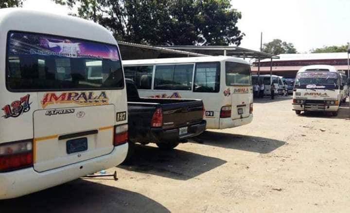 SPS: transportistas dejan «varados» a sus pasajeros; se van a paro por la extorsión