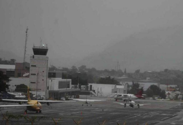 vuelos cancelados en Toncontín