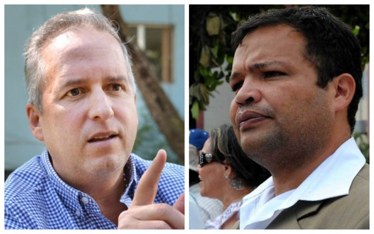 """Ricardo Álvarez: """"Nosotros promovemos comandos de paz y empleo""""; Jari Dixon le responde"""