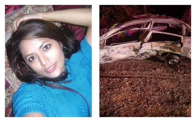 Nacaome: Persona que murió calcinada en vehículo era una maestra