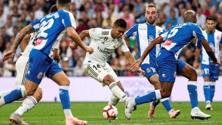 Real Madrid vs. Espanyol se enfrentan por la Liga de España