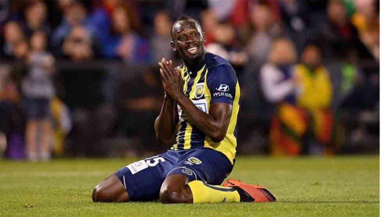 Usain Bolt anunció su retiro de las canchas de fútbol