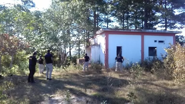 Hallan cementerio clandestino en la aldea El Lolo en Comayagüela