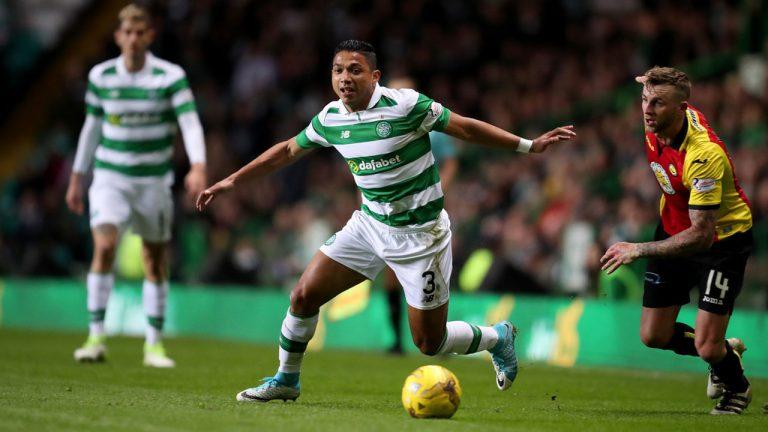 Emilio Izaguirre figuró de titular en triunfo de Celtic