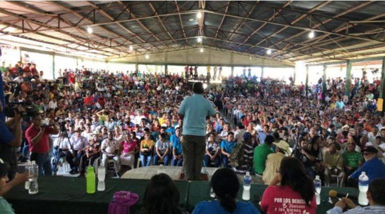 Mediante Cabildo abierto pedirán declarar a Tocoa libre de la extracción minera