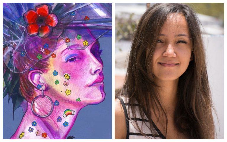 HISTORIA HUMANA: Aurelia Quesada, artista hondureña que traspasa fronteras con sus pinturas