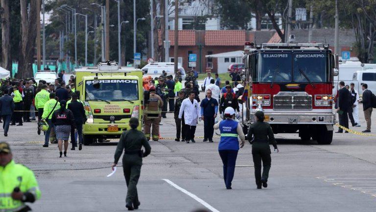 Gobierno colombiano culpa al ELN por atentado en Bogotá que deja 21 muertos