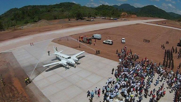 Diputado Juan Carlos Elvir denuncia abandono de aeródromo en Copán