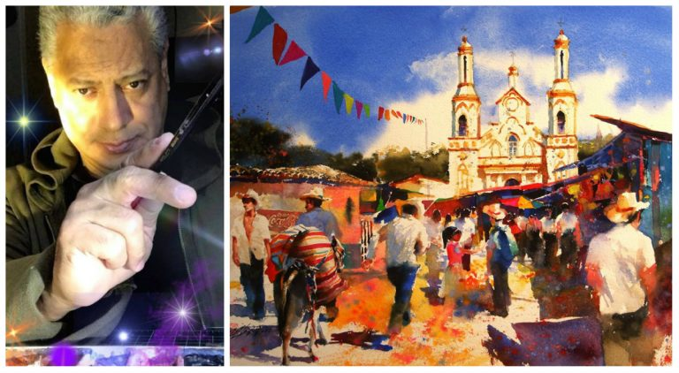 Muere en Tegucigalpa el reconocido pintor hondureño Ulises Daniel Rivera